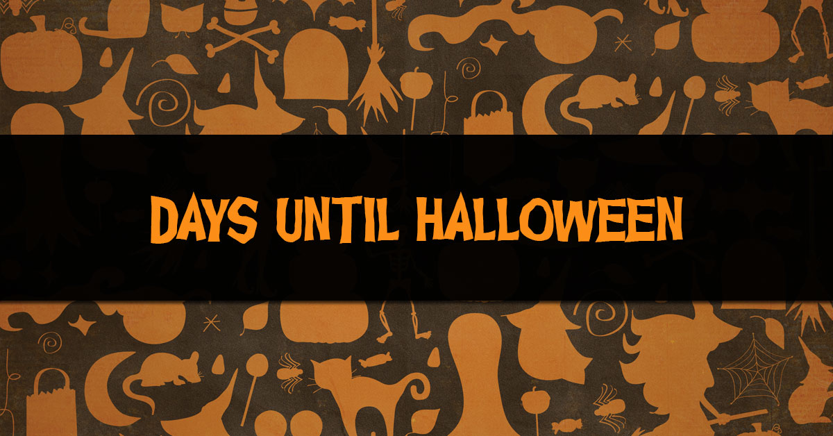 How Many Days Until Halloween - HalloweenPulse.com