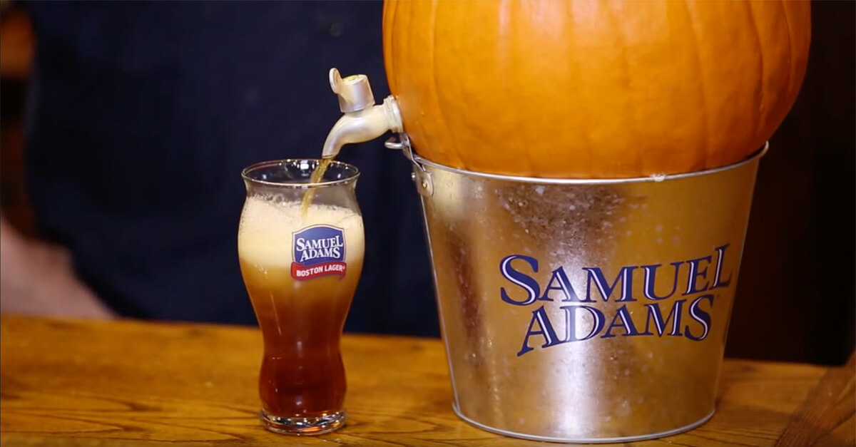 How to tap a pumpkin for a pumpkin beer keg halloween pulse Pumpkin carving beer