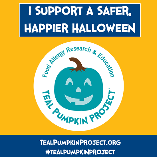 Safer Halloween Teal Pumpkin Project