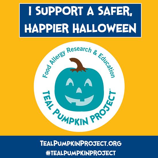 Safer Halloween Teal Pumpkin Project