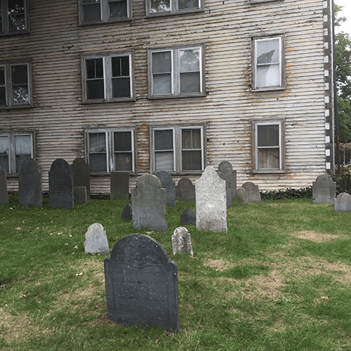 Old Burying Point Salem MA